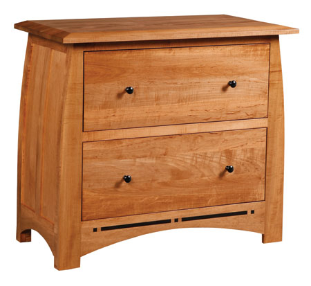 Aspen Lateral File Cabinet by Simply Amish at Becker Furniture