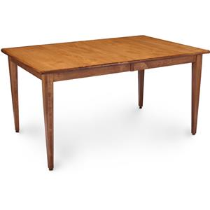 Solid Wood Leg Table