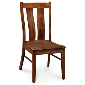 Mitchell Side Chair in Bourbon Finish
