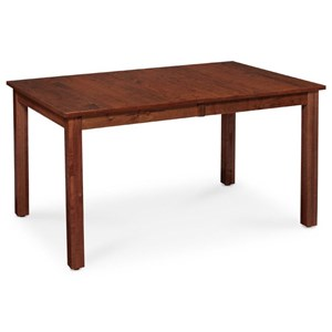 Sheffield Leg Table in Bourbon Finish