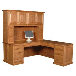 Classic Hutch Top by Simply Amish at Mueller Furniture