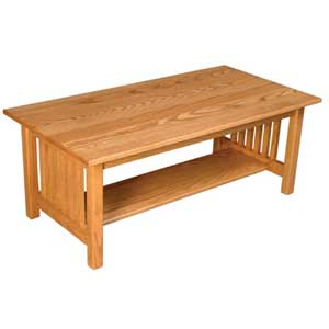 Simply Amish Mission Amish Coffee Table
