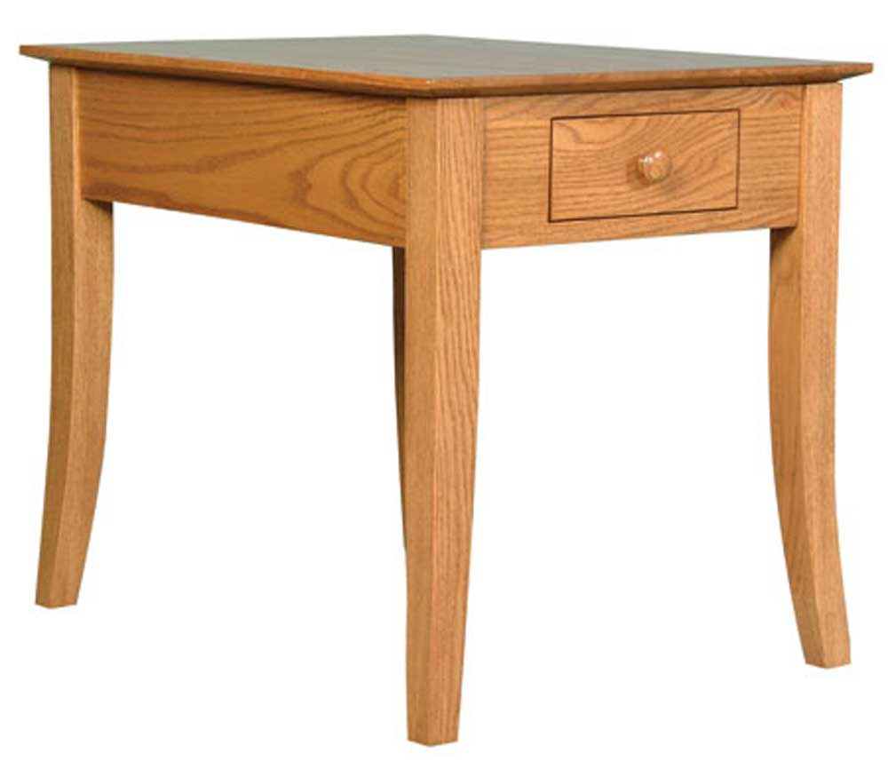 Shaker Amish Carlisle End Table by Simply Amish at Mueller Furniture