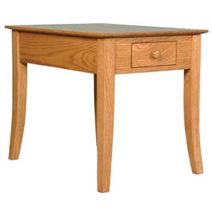 Simply Amish Shaker Amish Carlisle End Table