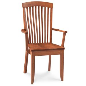 Simply Amish Justine Arm Chair