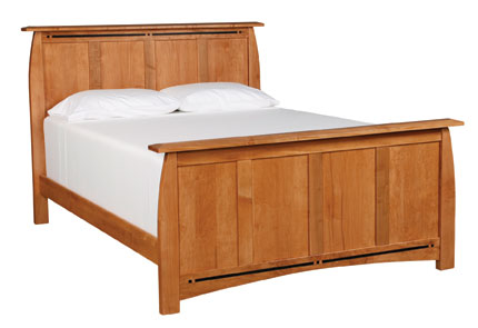Aspen King Panel Bed by Simply Amish at Becker Furniture