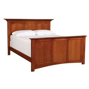 Simply Amish Royal Mission King Panel Bed