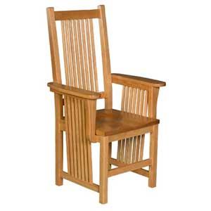 Simply Amish Prairie Mission Arm Chair