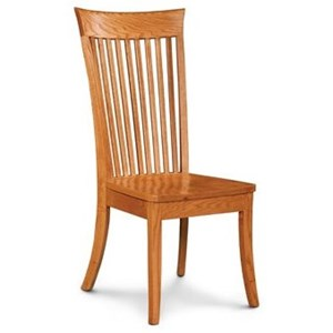 Solid Wood Dining Side Chair