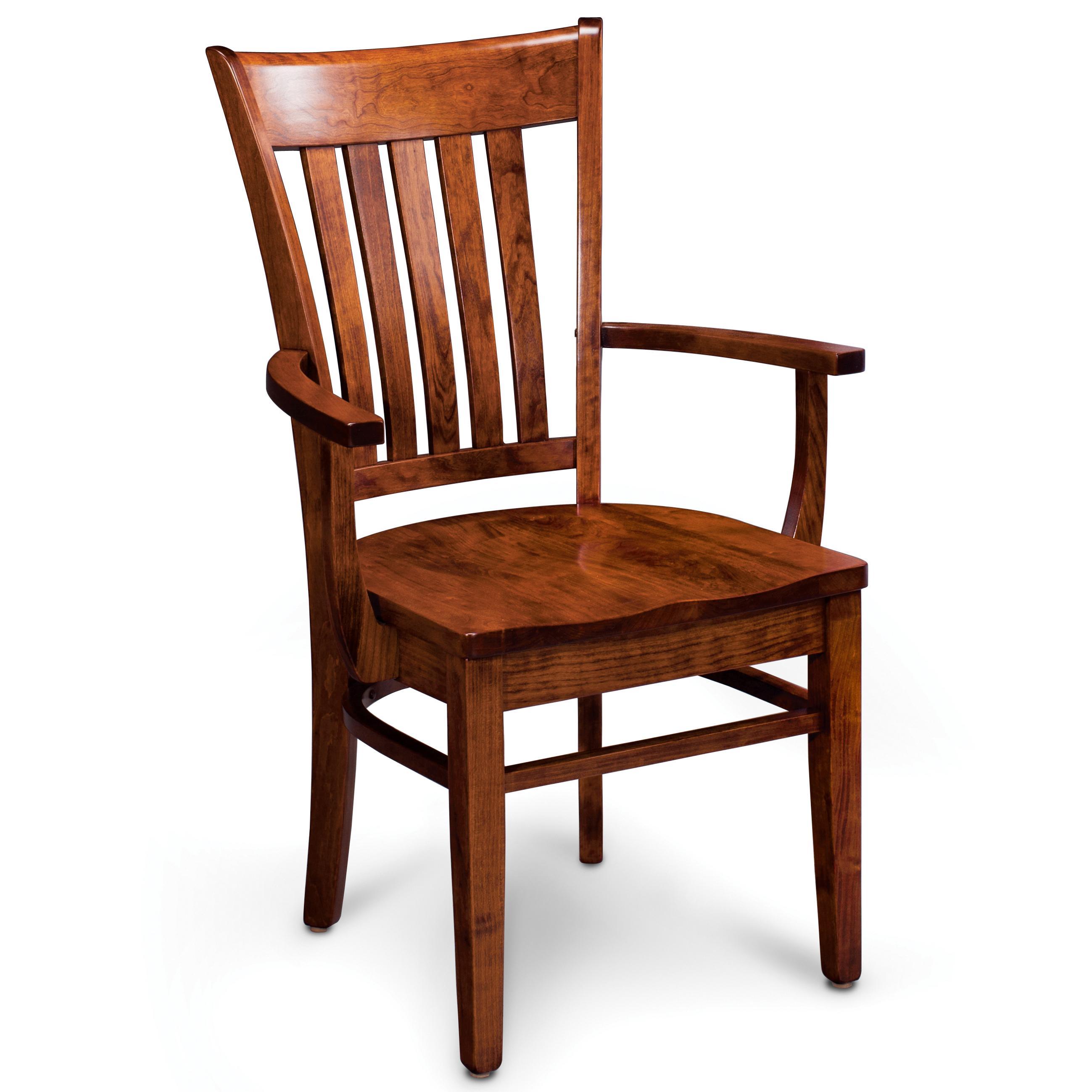 Loft Kaskasia Arm Chair by Simply Amish at Becker Furniture