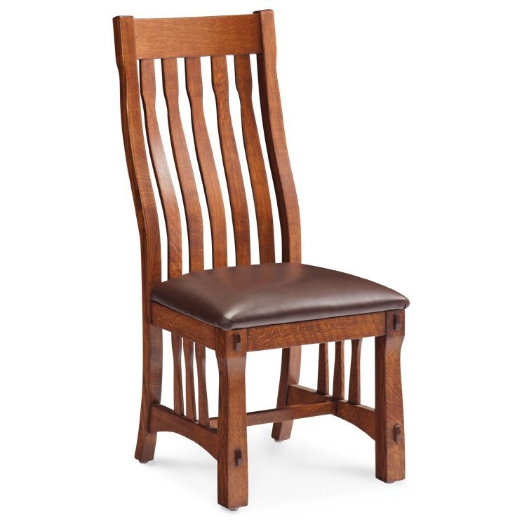 MaRyan Side Chair by Simply Amish at Becker Furniture