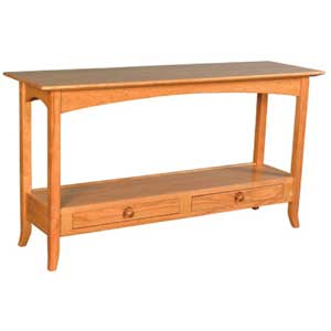 Simply Amish Shaker Amish Sofa Table