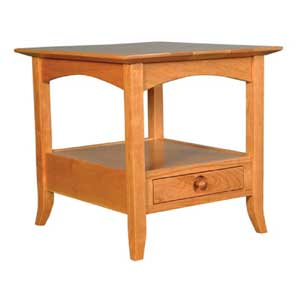 Simply Amish Shaker Amish End Table