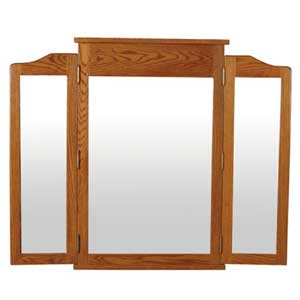 Simply Amish Shaker Amish Tri-View Mirror