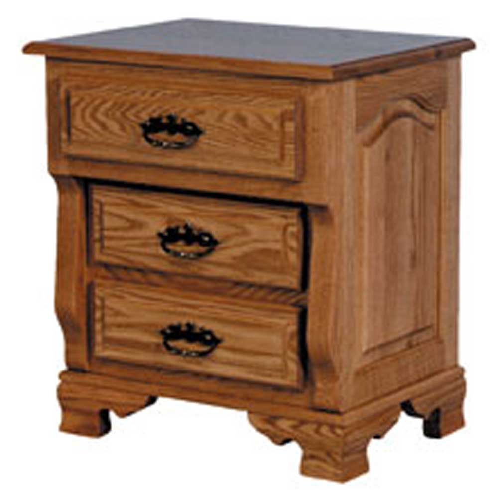 Heritage Amish Bedside Chest by Simply Amish at Mueller Furniture