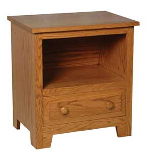 Simply Amish Homestead Amish Nightstand w/ Opening