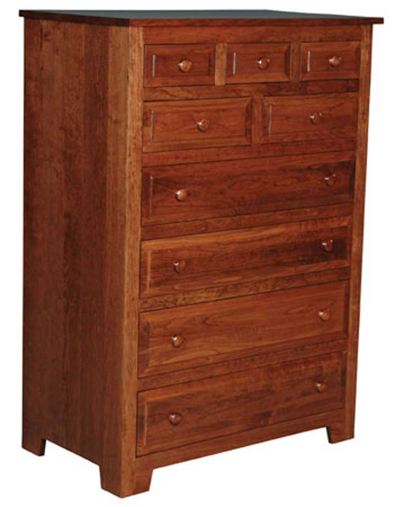 Homestead Amish 9-Drawer Chest by Simply Amish at Mueller Furniture