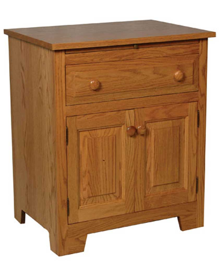 Homestead Amish Deluxe Nightstand by Simply Amish at Mueller Furniture
