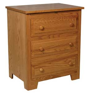 Simply Amish Homestead Amish Deluxe Bedside Chest