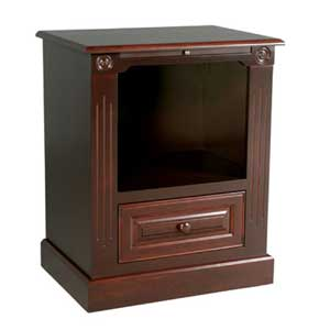 Simply Amish Imperial Amish Deluxe Nightstand with Opening