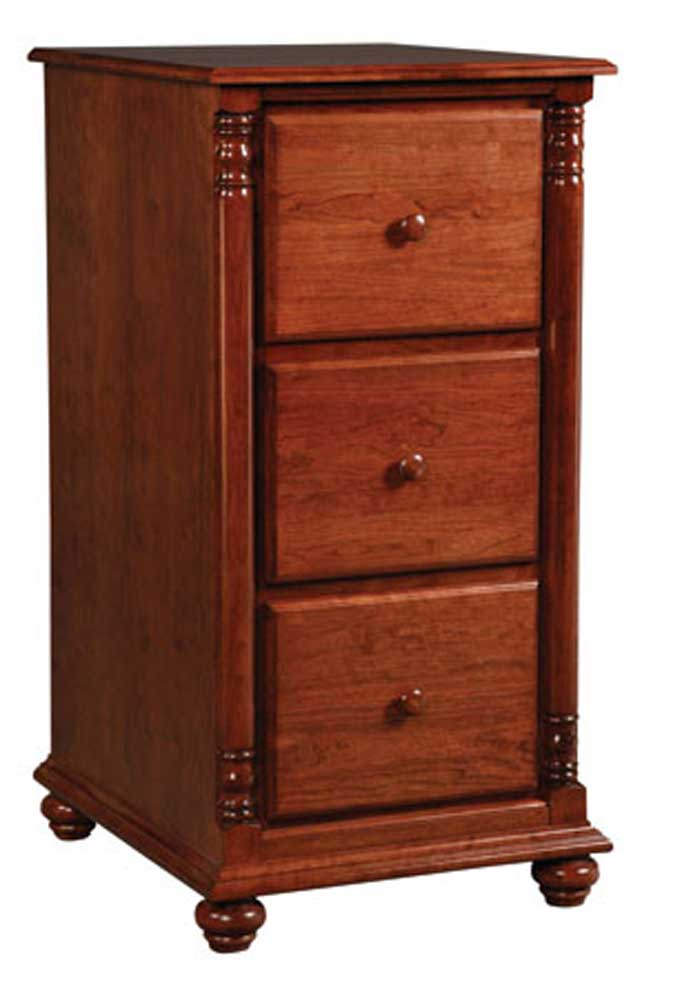 Savannah 3-Drawer File Cabinet by Simply Amish at Mueller Furniture