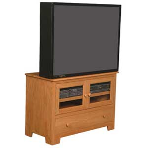 Simply Amish Shaker Amish Widescreen TV Stand
