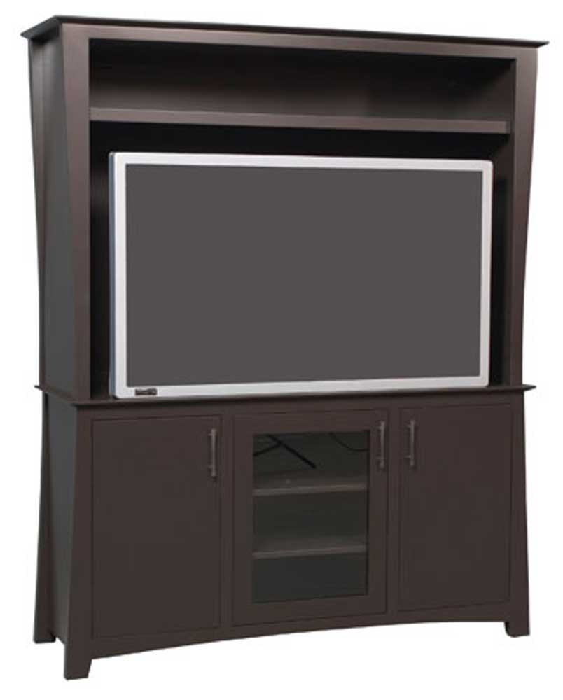 Loft 2-Piece Plasma Center by Simply Amish at Mueller Furniture