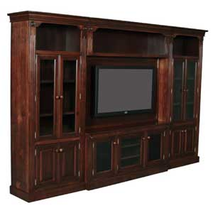 Simply Amish Imperial Amish Entertainment Wall Unit