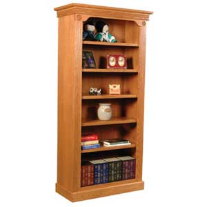 Simply Amish Imperial Amish Open Bookcase