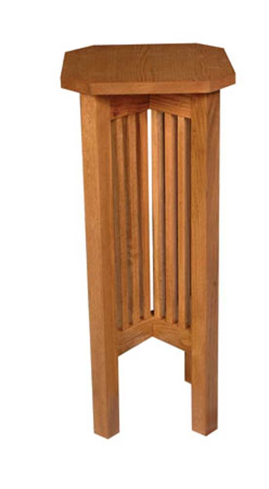 Prairie Mission Plant Stand by Simply Amish at Mueller Furniture