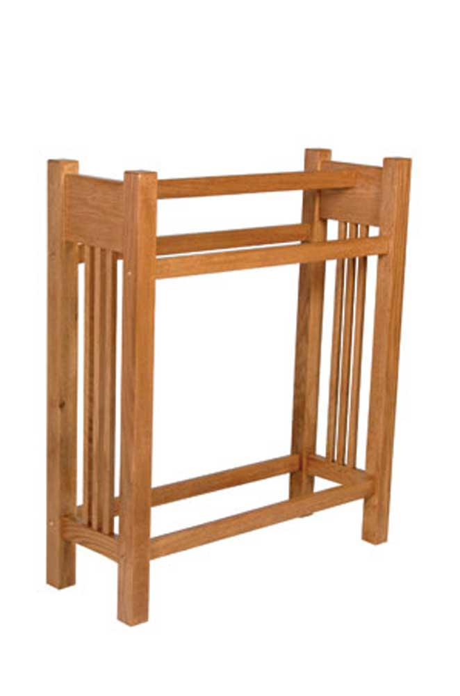 Prairie Mission Quilt Stand by Simply Amish at Mueller Furniture