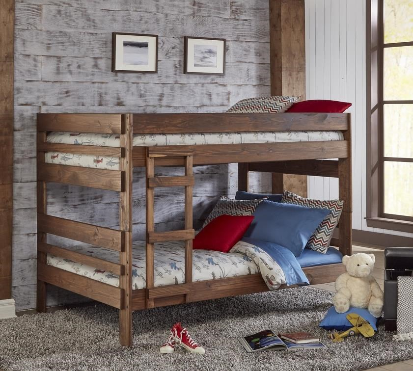 607 Chestnut Full over Full Bunk Bed by Simply Bunk Beds at Furniture Fair - North Carolina