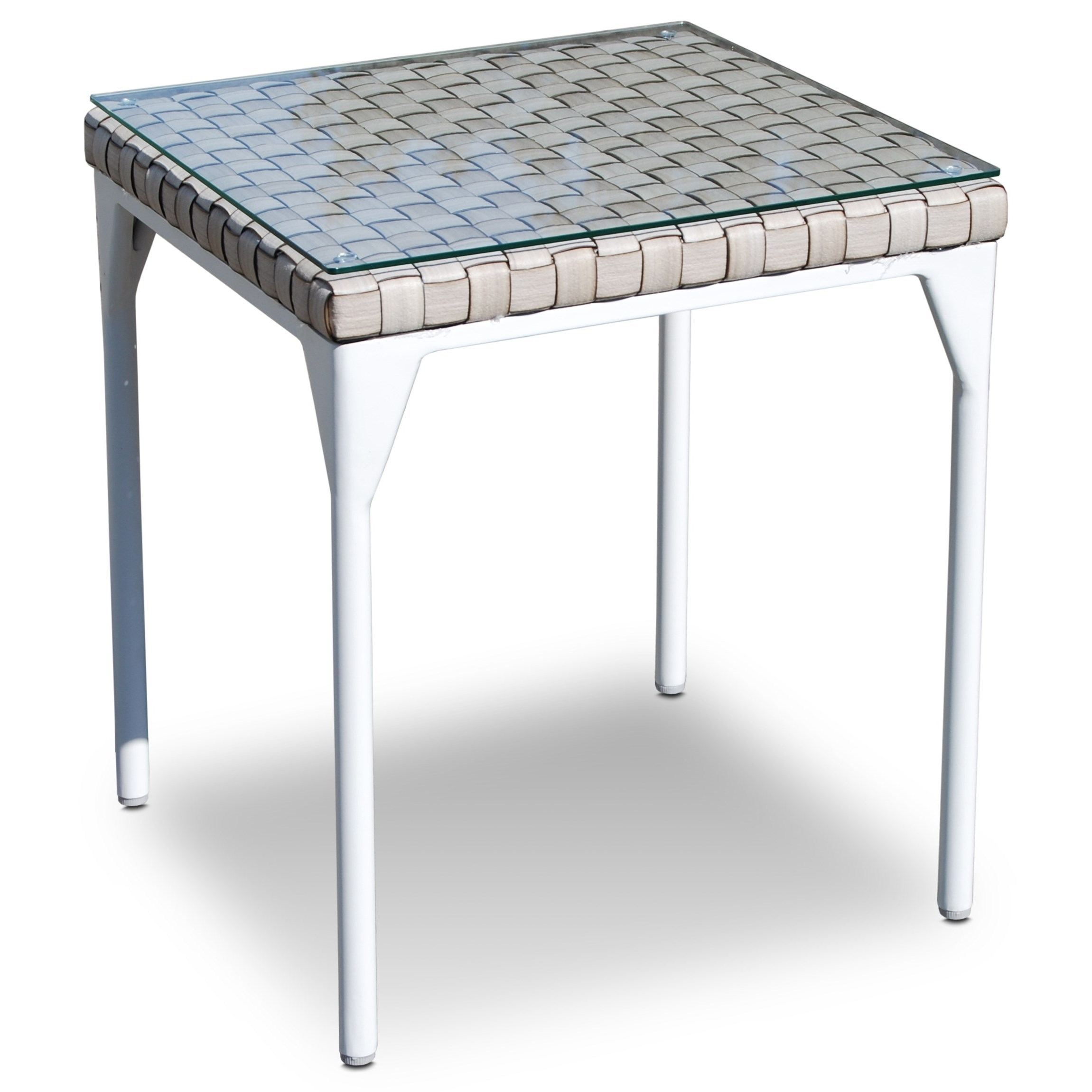 BRAFTA Outdoor Side Table by Skyline Design at Baer's Furniture