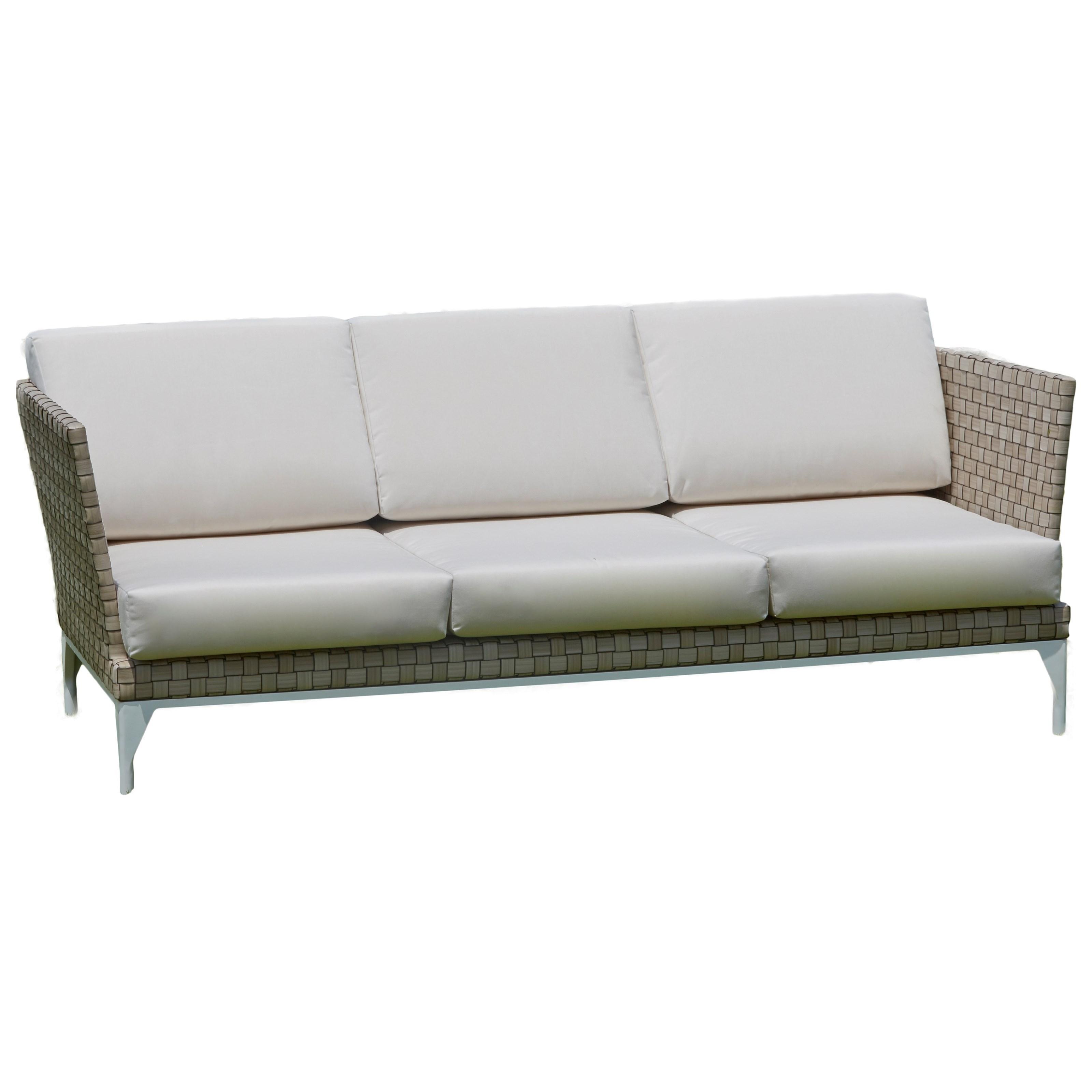 BRAFTA Outdoor Sofa by Skyline Design at Baer's Furniture