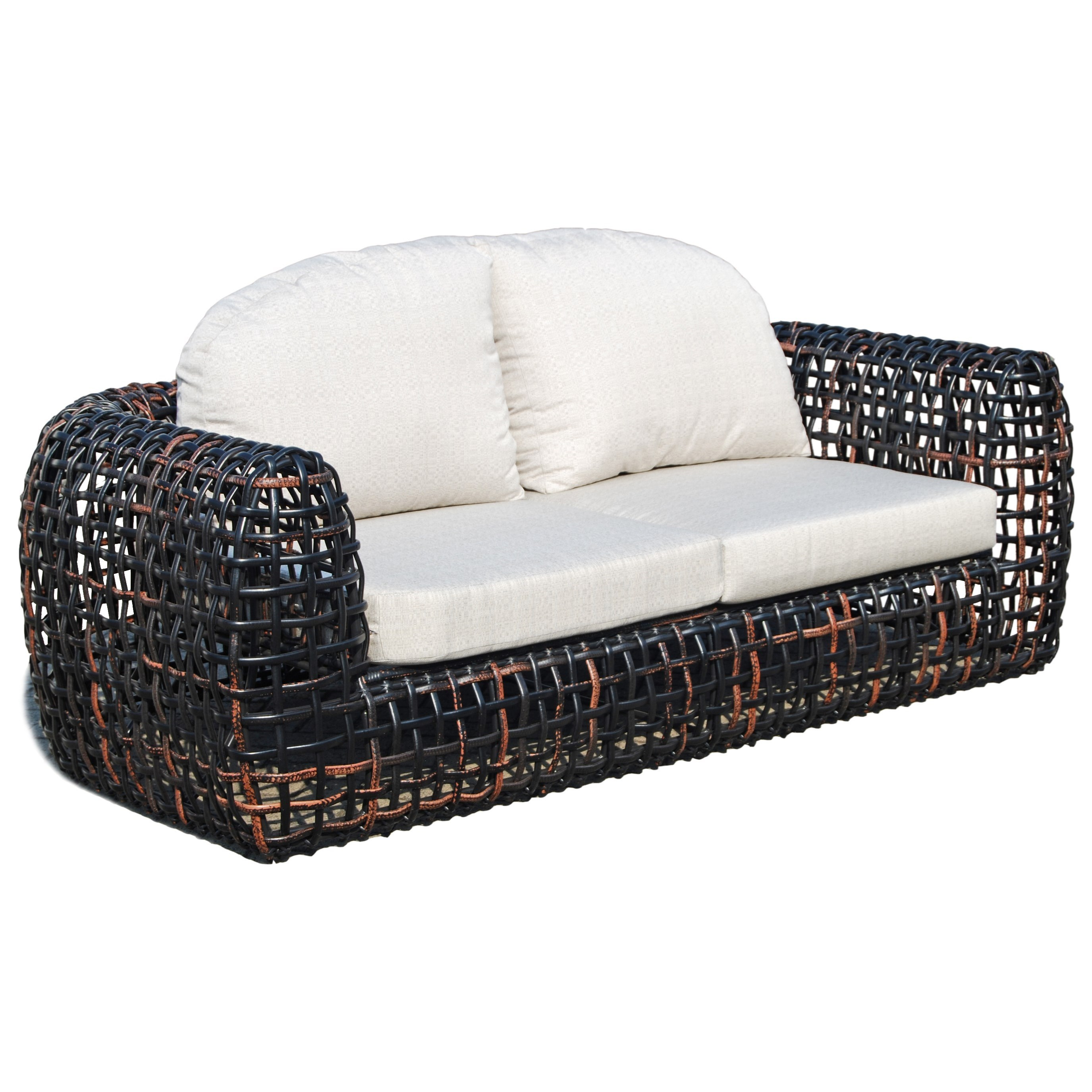 Dynasty Outdoor Sofa by Skyline Design at Baer's Furniture