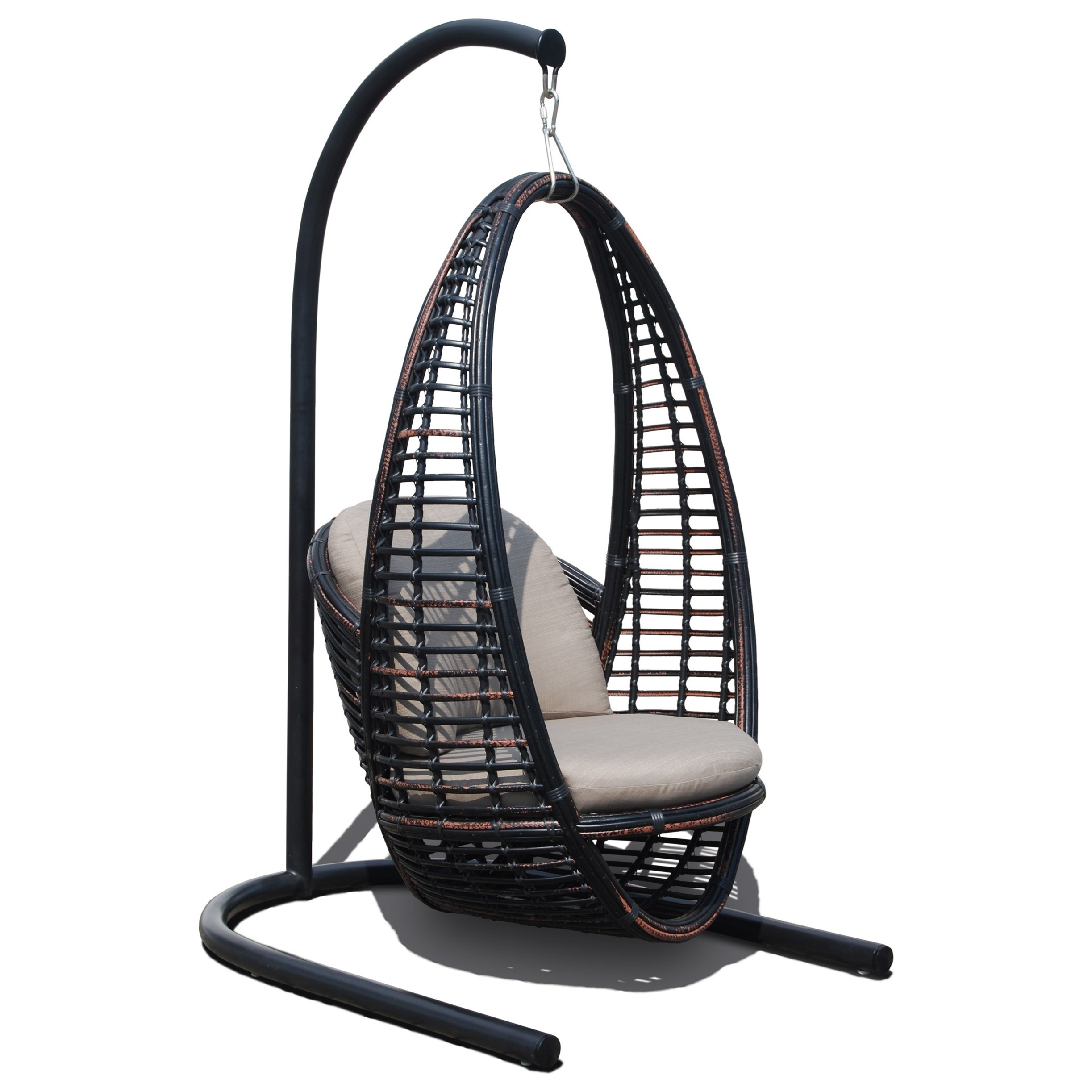 Heri Hanging Chair by Skyline Design at Baer's Furniture