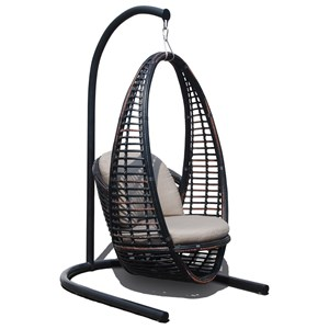 Outdoor Hanging Chair with Cushion