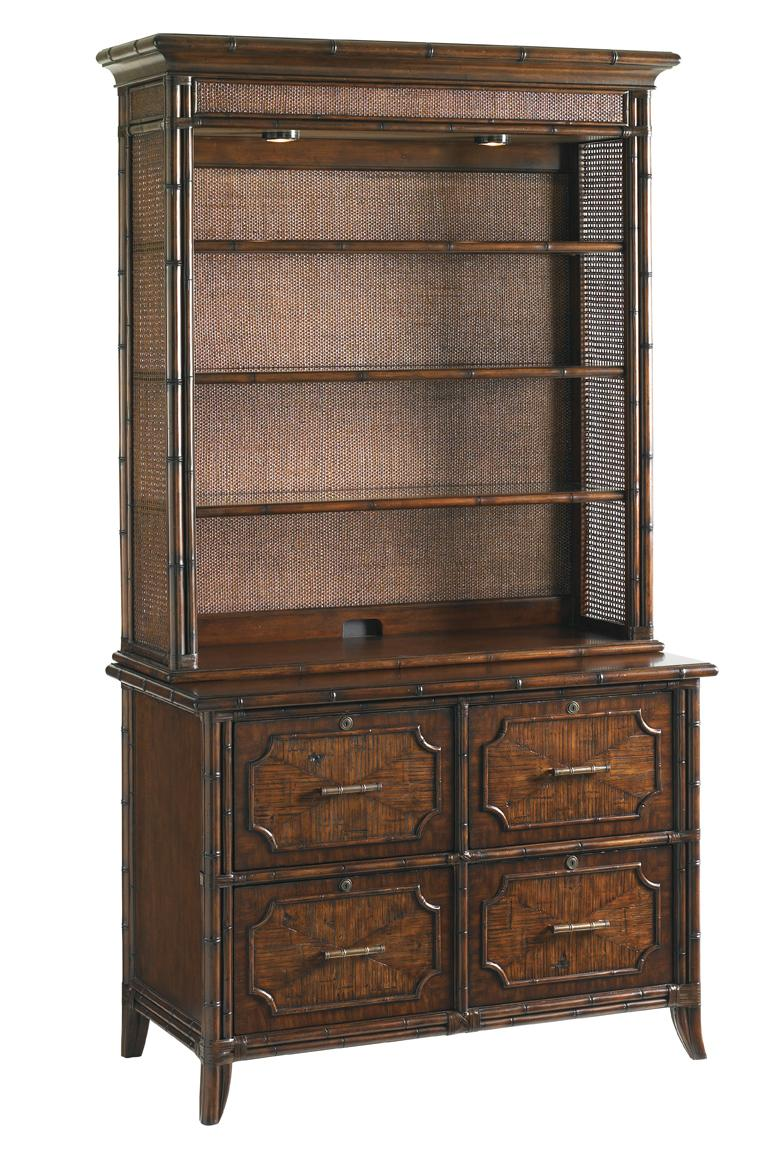 Bal Harbour 293SA Complete Laguna Beach File Chest and Deck by Sligh at Baer's Furniture