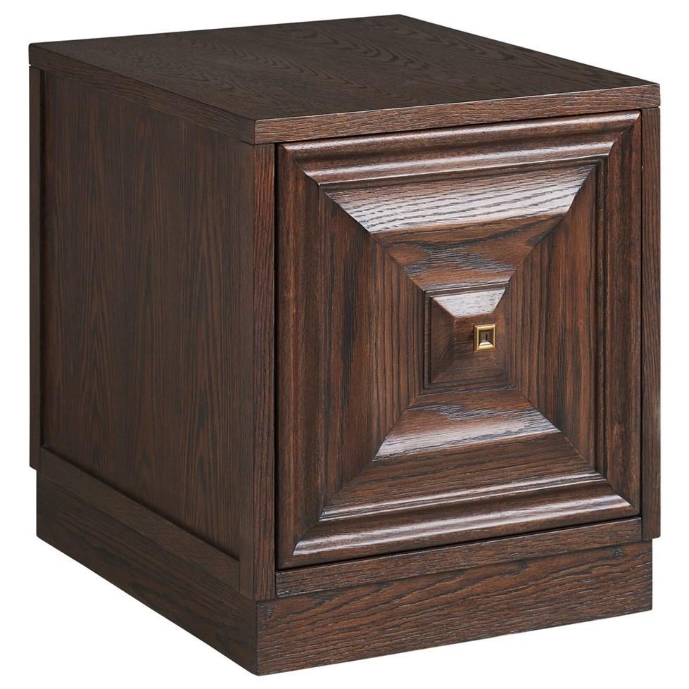 Barrymore Alden Mobile File Chest by Sligh at Baer's Furniture