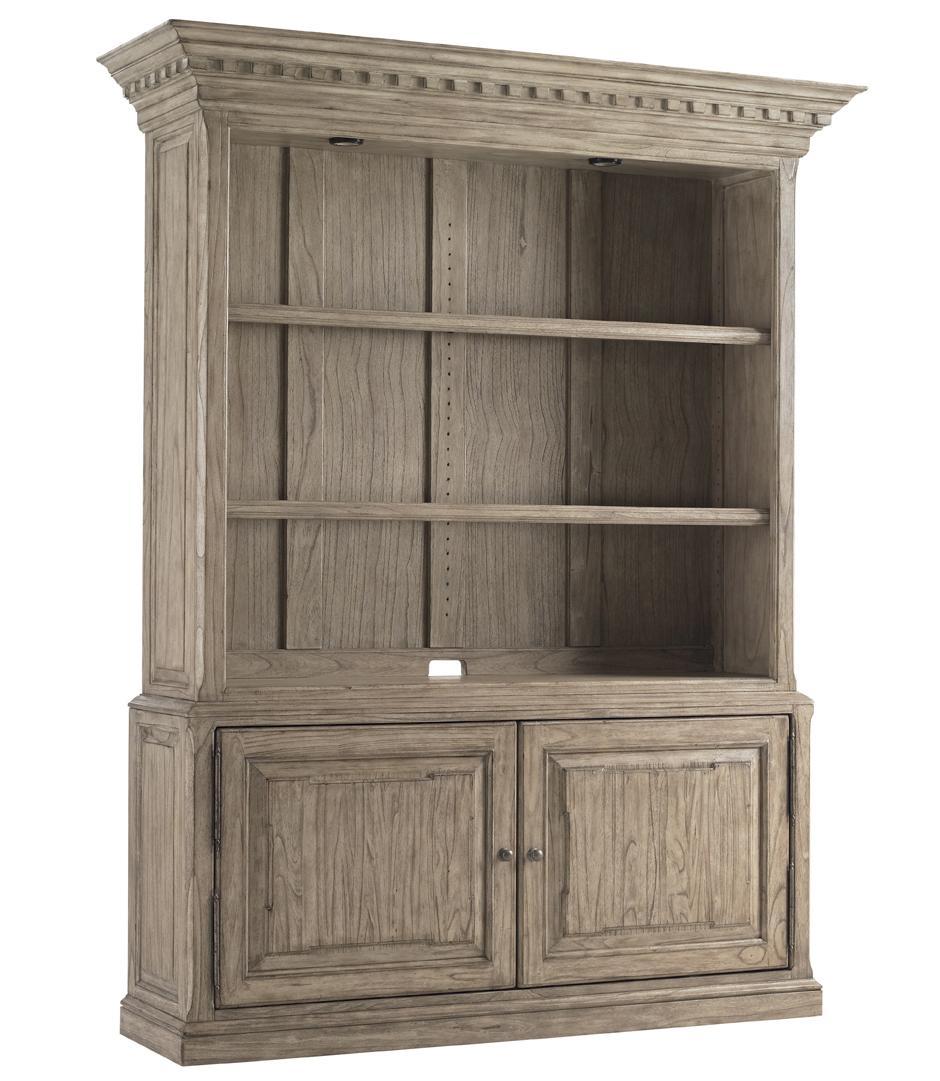 Barton Creek Mt. Bonnell Bookcase by Sligh at Baer's Furniture