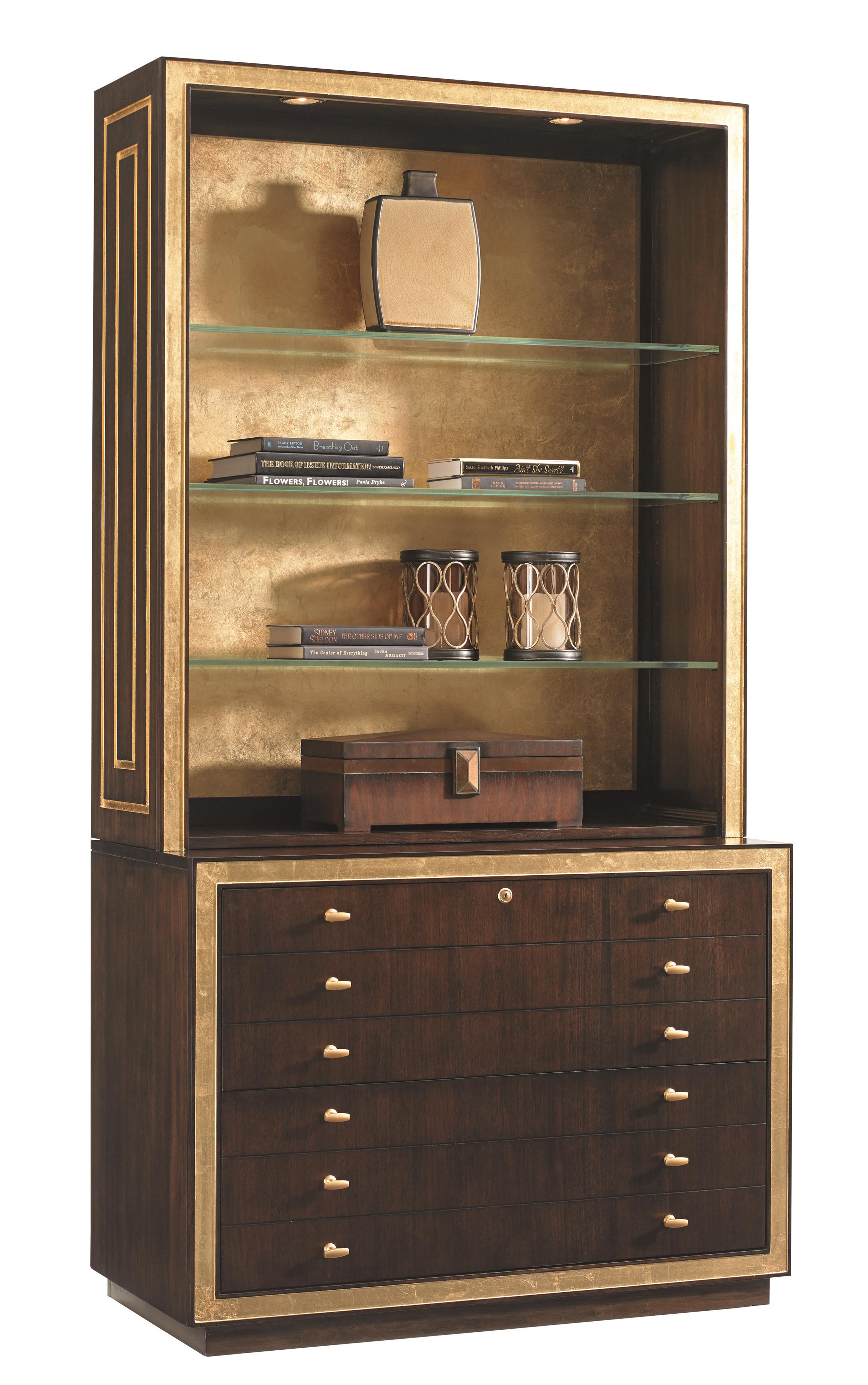 Bel Aire Beverly Palms Deck and File Cabinet Combo by Sligh at Baer's Furniture