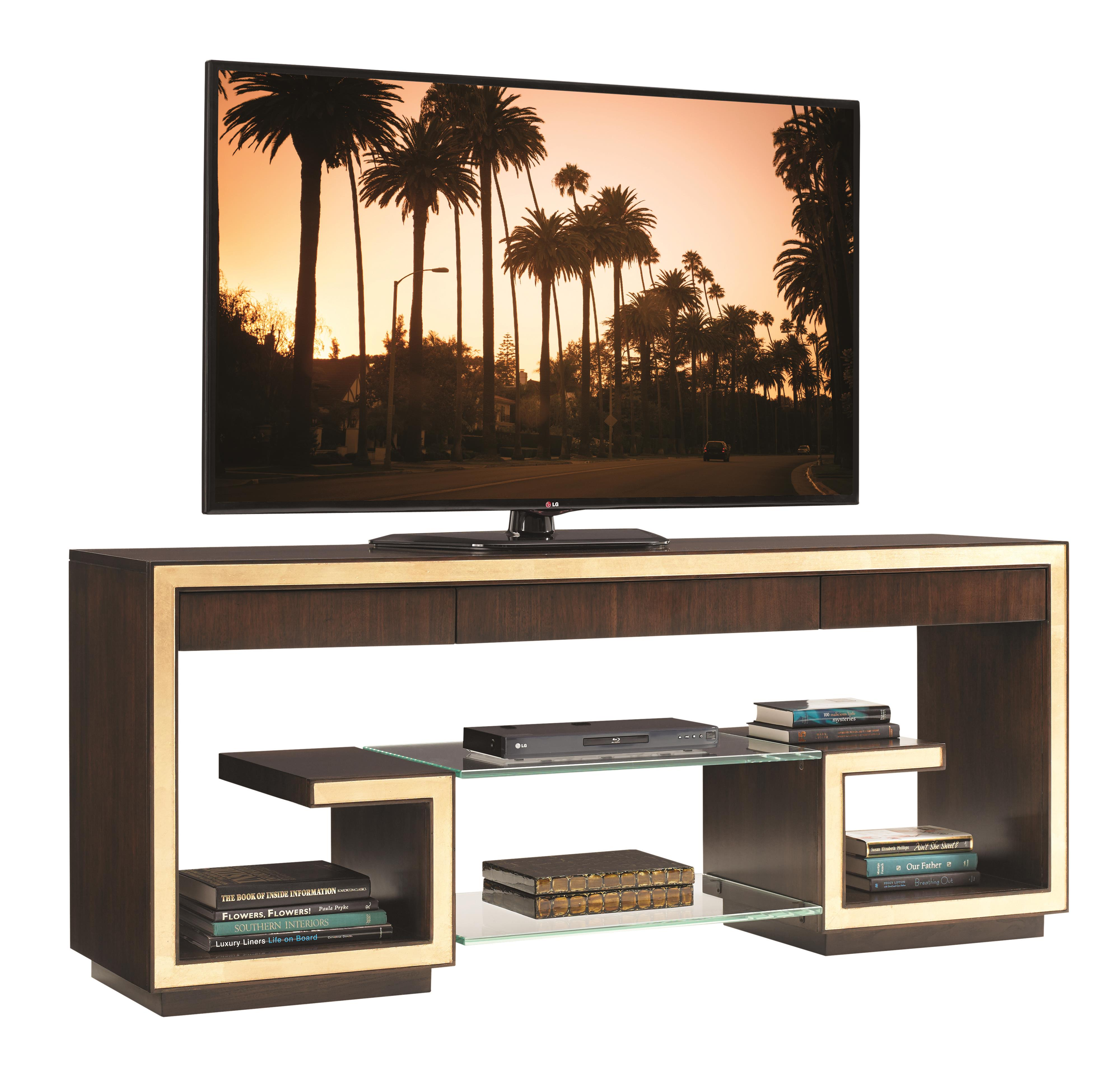 Bel Aire Rodeo Media Console by Sligh at Jacksonville Furniture Mart
