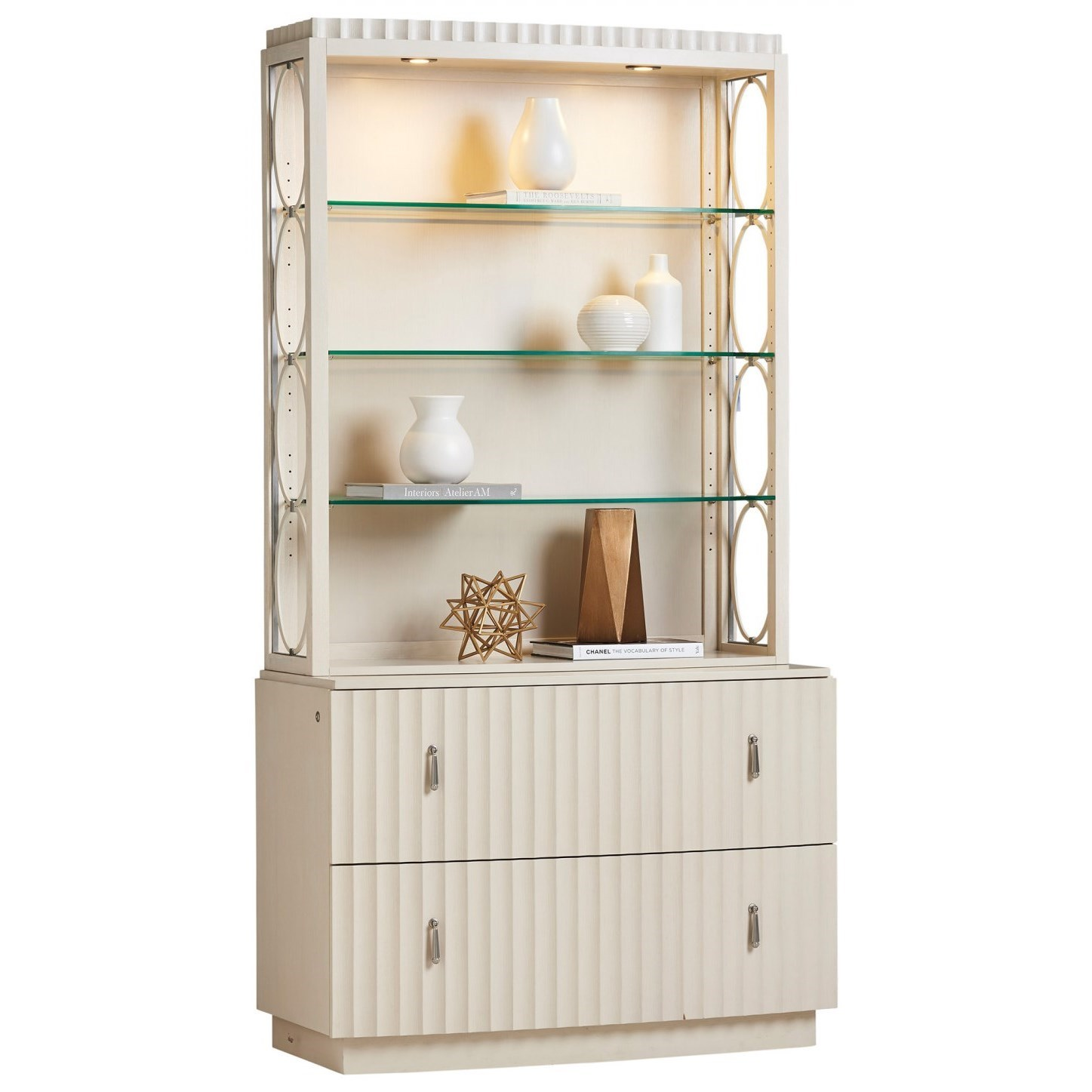 Cascades Birkdale File Chest and Deck by Sligh at Baer's Furniture