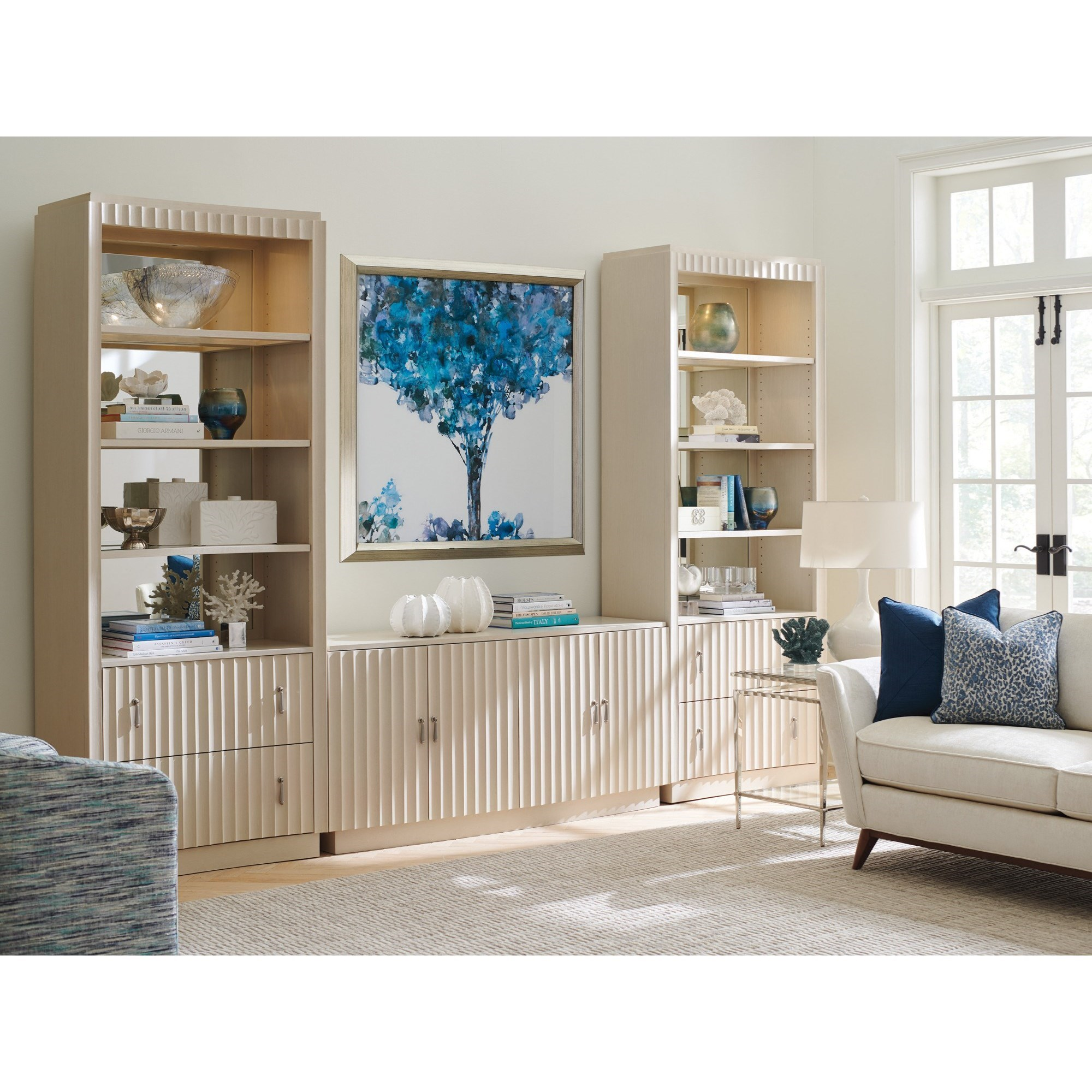Cascades Library Wall by Sligh at Baer's Furniture