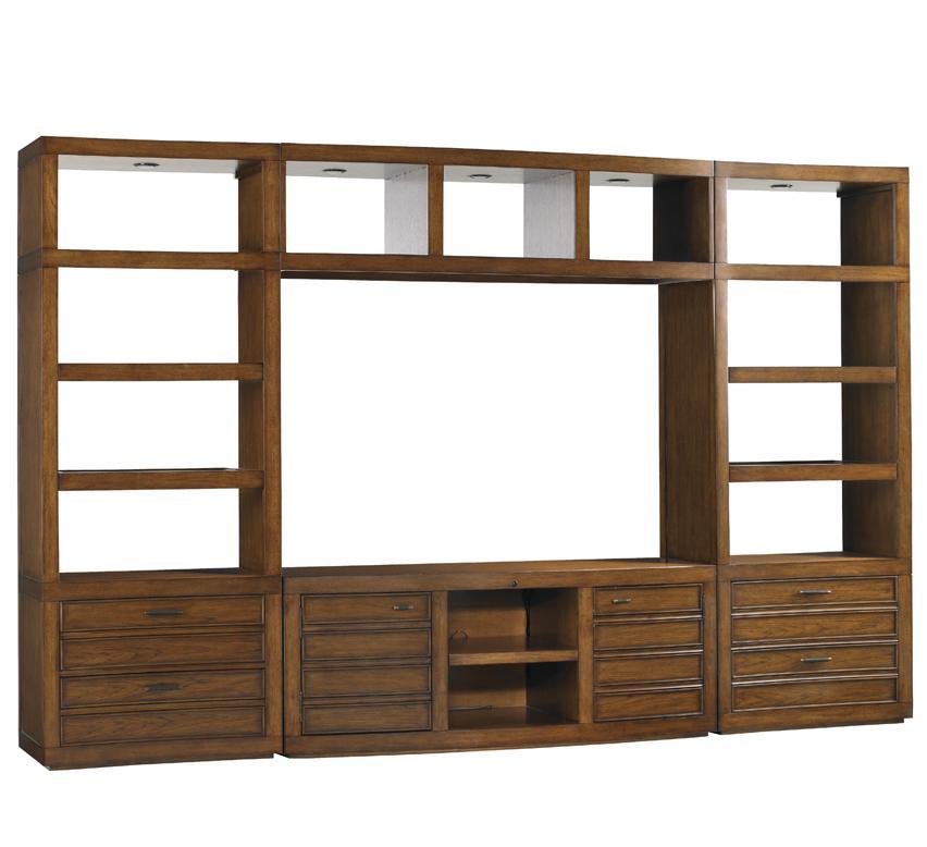 Longboat Key Plantation Bay Wall Entertainment  Unit by Sligh at Baer's Furniture