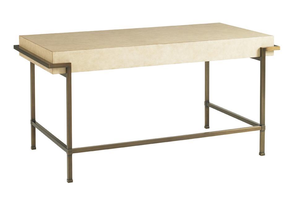 Studio Designs Parchment Writing Desk by Sligh at Baer's Furniture