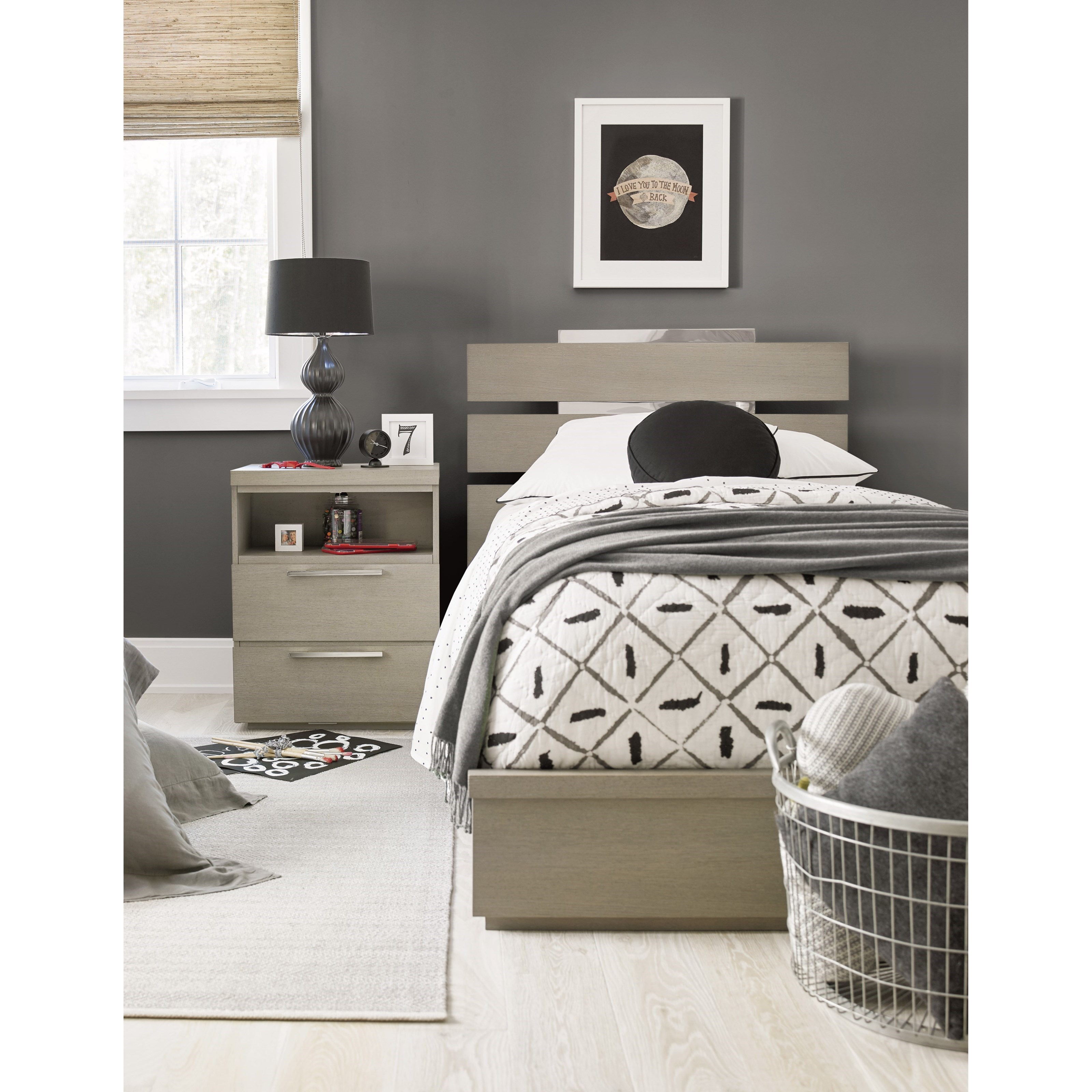 Axis Full Bedroom Group by Smartstuff at Mueller Furniture