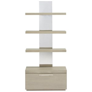 Bookcase with Removable Bottom Shelf