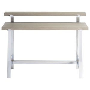 Desk with Stainless Steel Base
