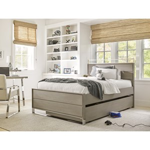 Twin Reading Bed with Trundle